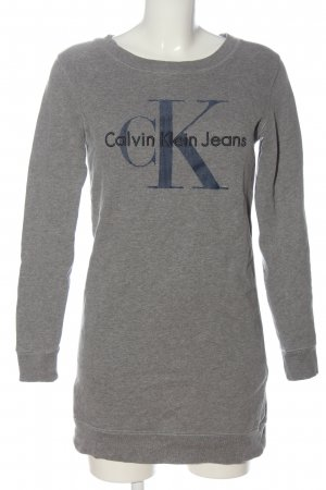 Calvin Klein Jeans Sweat Shirt flecked casual look