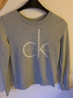 Calvin Klein Jeans Sweatshirt gris clair
