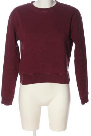 Calvin Klein Jeans Sweatshirt rot Casual-Look