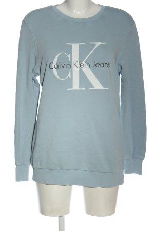 Calvin Klein Jeans Sweatshirt Schriftzug gedruckt Casual-Look