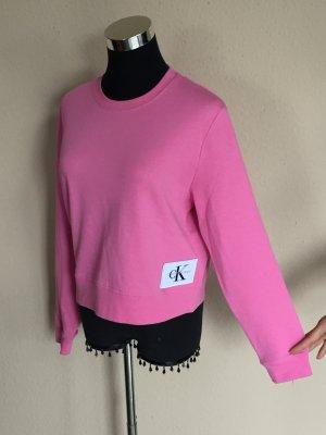 Calvin Klein Jeans Sweatshirt Gr.XS pink Neu und ungetragen