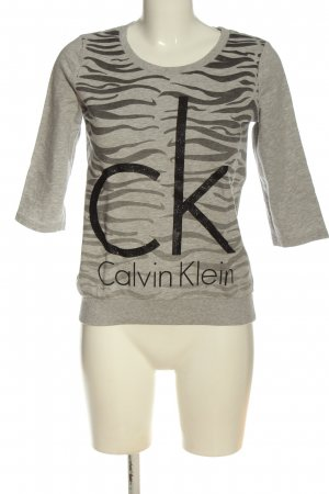 Calvin Klein Jeans Sweat Shirt printed lettering casual look