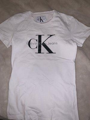 Calvin Klein Jeans T-shirt imprimé blanc-noir