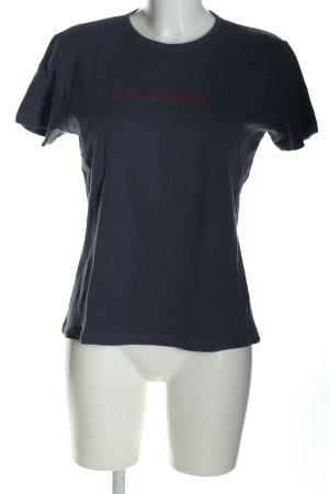 Calvin Klein Jeans T-Shirt blau Casual-Look