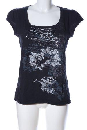 Calvin Klein Jeans T-Shirt Motivdruck Casual-Look