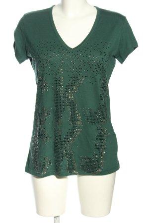 Calvin Klein Jeans T-Shirt grün Casual-Look