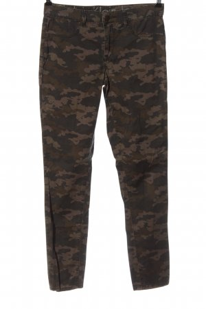 Calvin Klein Jeans Treggings khaki camouflage pattern casual look