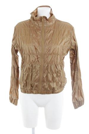 Calvin Klein Jeans Übergangsjacke goldfarben Glanz-Optik