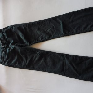 Calvin Klein Jeans Vaquero estilo zanahoria verde oscuro tejido mezclado