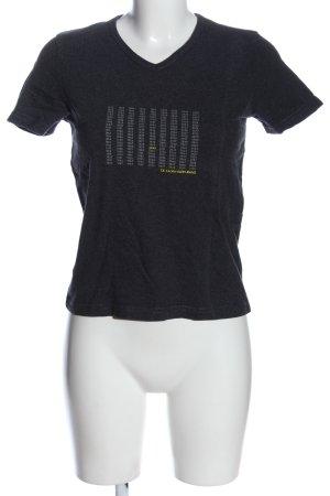 Calvin Klein Jeans V-hals shirt gestippeld casual uitstraling