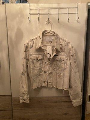Calvin Klein Denim Jacket white
