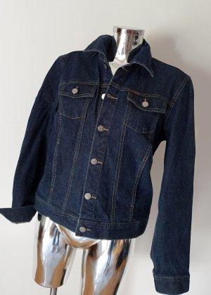 Calvin Klein Jeans Jeansowa kurtka ciemnobrązowy