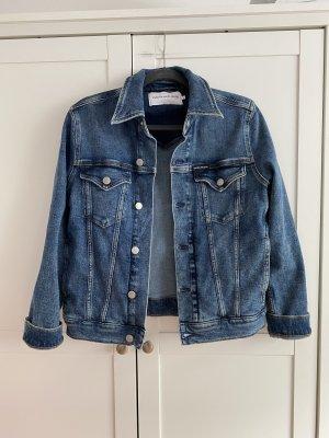 Calvin Klein Jeansowa kurtka niebieski