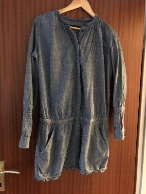 Calvin Klein Robe en jean bleu