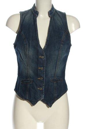 Calvin Klein Gilet en jean bleu style décontracté