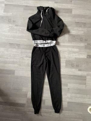 Calvin Klein Veste de sport noir-blanc
