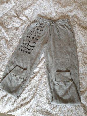 Calvin Klein Pantalon de jogging gris clair-noir