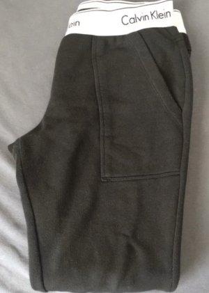Calvin Klein Pantalone largo nero-bianco