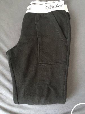 Calvin Klein Baggy broek zwart-wit