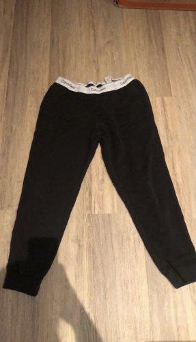 Calvin Klein Pantalón deportivo negro-blanco