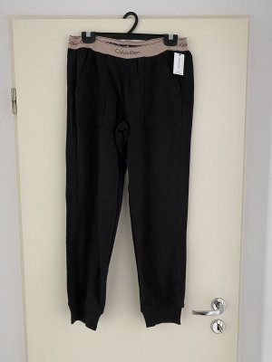 Calvin Klein Spodnie dresowe czarny-stary róż
