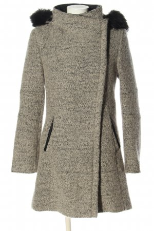 Calvin Klein Hooded Coat light grey-black flecked casual look