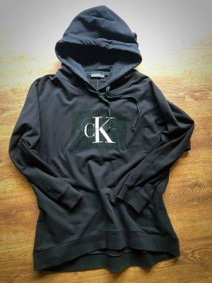 Calvin Klein Capuchon sweater zwart
