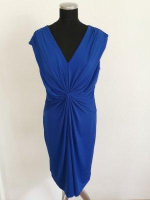 Calvin Klein Cocktail Dress blue polyester