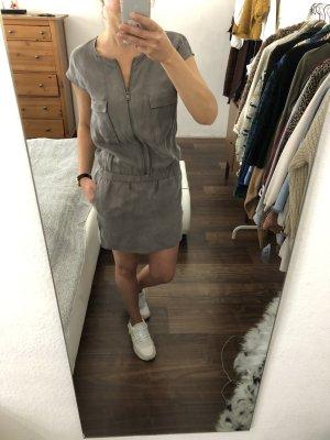 Calvin Klein Kleid Minikleid Utility Style grau Gr. XS