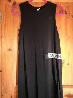 calvin klein kleid schwarz Neu