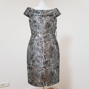 Calvin Klein Kleid  Silber/Metallic  US 10