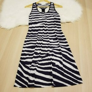 Calvin Klein Beach Dress dark blue-white