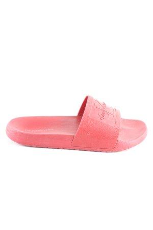 Calvin Klein Comfort Sandals red casual look