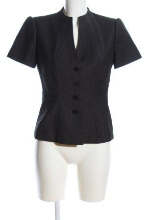 Calvin Klein Kurz-Blazer schwarz Streifenmuster Business-Look