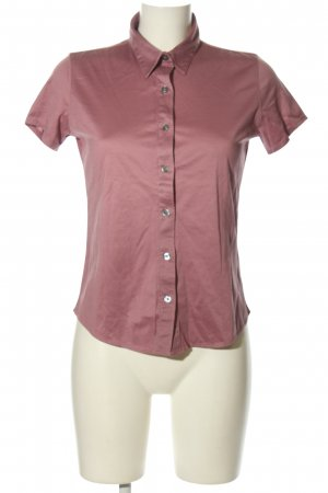 Calvin Klein Kurzarm-Bluse pink Casual-Look