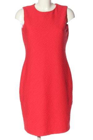 Calvin Klein Kurzarmkleid rot Business-Look