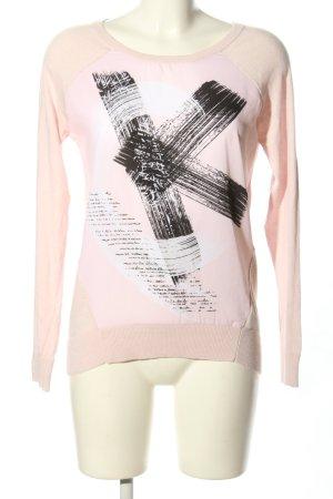 Calvin Klein Langarm-Bluse Motivdruck Casual-Look