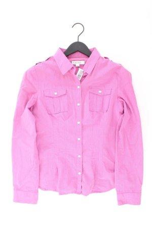 Calvin Klein Langarmbluse Größe M pink aus Baumwolle