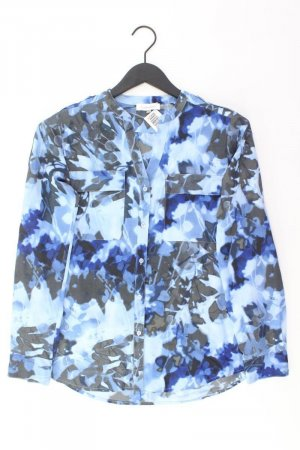 Calvin Klein Langarmbluse Größe S blau aus Polyester