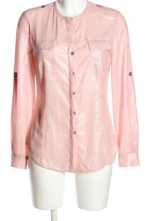 Calvin Klein Langarmhemd pink Casual-Look
