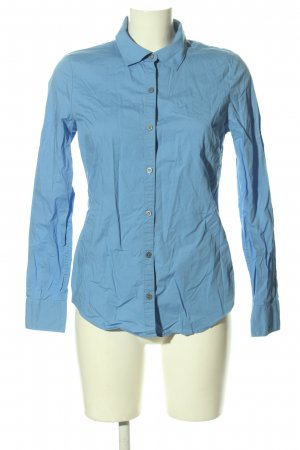 Calvin Klein Langarmhemd blau Business-Look