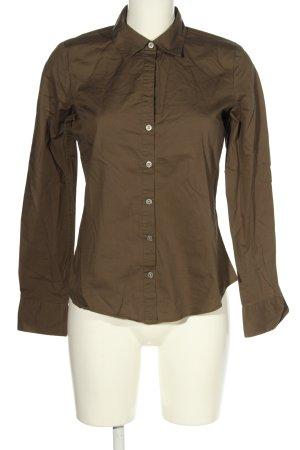 Calvin Klein Langarmhemd bronzefarben Business-Look