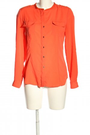 Calvin Klein Langarmhemd rot Casual-Look