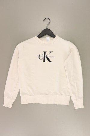 Calvin Klein Langarmpullover Größe XS creme aus Baumwolle