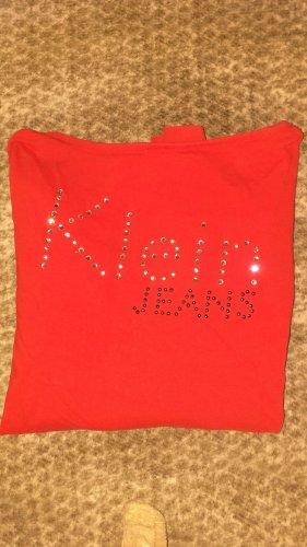Calvin Klein Haut long rouge