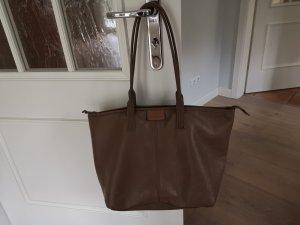 Calvin Klein Borsa shopper marrone Pelle