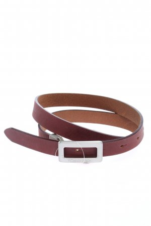 Calvin Klein Leather Belt brown casual look