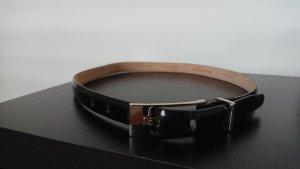 Calvin Klein Leather Belt black leather