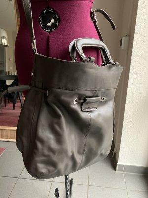 Calvin Klein Borsa shopper marrone-grigio