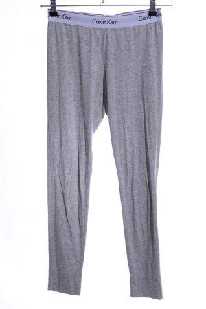 Calvin Klein Legging gris clair moucheté style décontracté